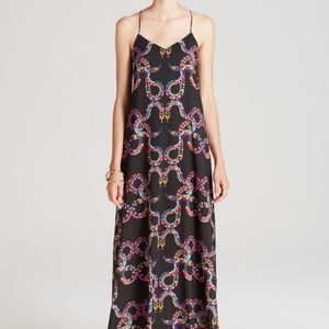 Mara Hoffman Snake Print Maxi Dress